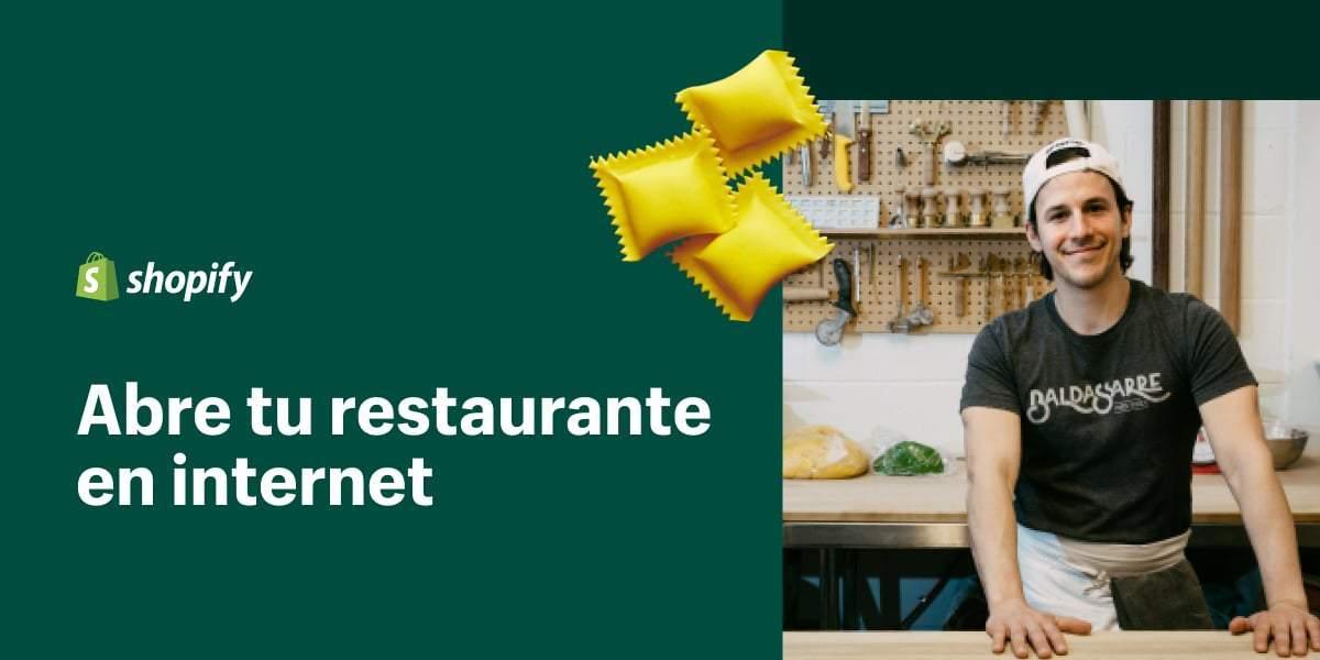 shopify restaurantes