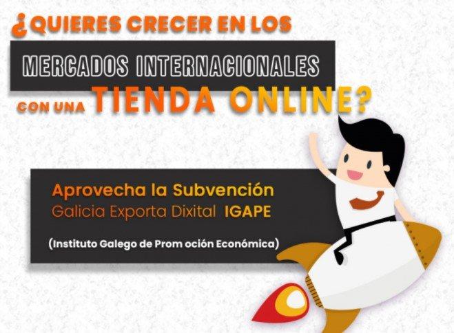 Subvenciones para tiendas online